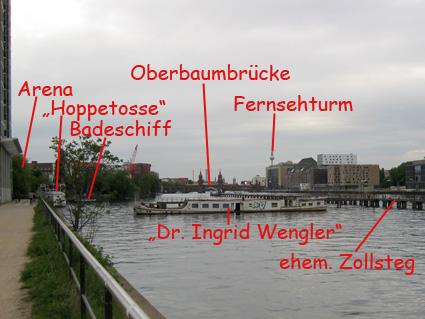 Hier könnte der Berliner Yachthafen entstehen.