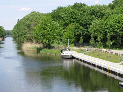 Das Bollwerk am Oranienburger Kanal