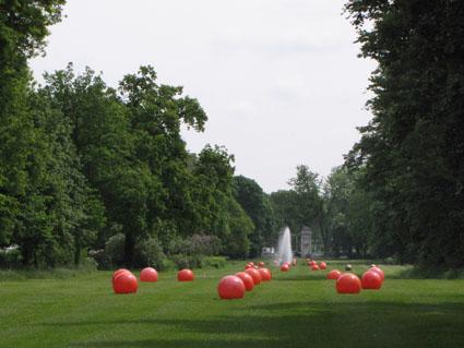 Der Park ist ganz nett ...