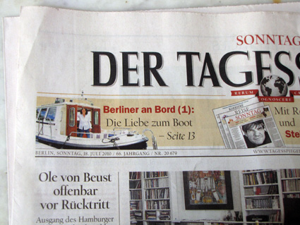 Tagesspiegel, 18.7.2010