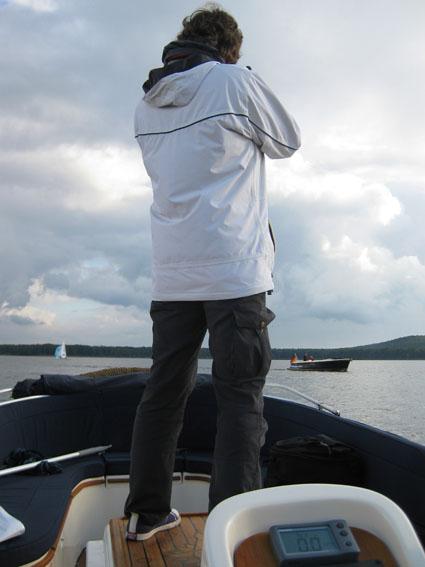 Bootshandel-Test der Connery 25 auf dem Müggelsee