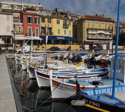 Im Hafen von Cassis (Frankreich)