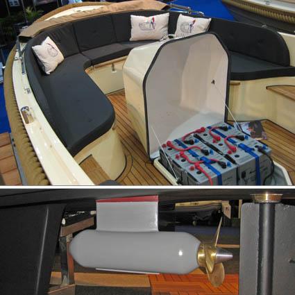 Antaris 630 mit Elektroantrieb auf der Boot Holland