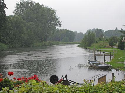 Regen-Romantik (Havel bei Burgwall)