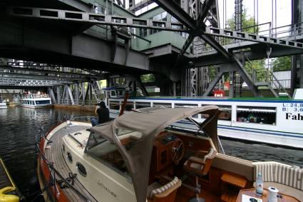 Das Schiffshebewerk Niederfinow