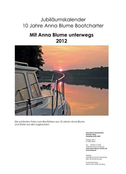 Kalender 2012 - Titelblatt