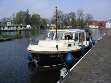 Felix Krull im Stadthafen Zehdenick