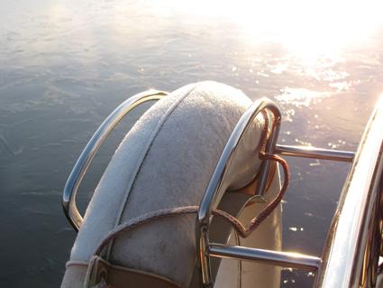 Wintermorgen auf dem See