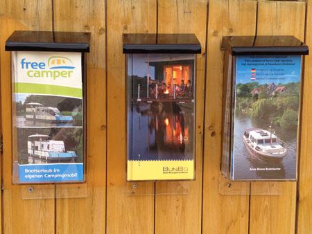 Wohnwagen, Bungalow oder Boot: freie Auswahl
